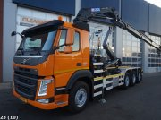 Volvo FM 420 8x2 Euro 6 HMF 26 ton/meter laadkraan Abrollcontainer