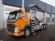 Volvo FM 420 8x2 Euro 6 HMF 26 ton/meter laadkraan Pojazdný kontajner