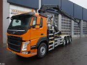 Volvo FM 420 8x2 Euro 6 HMF 28 ton/meter laadkraan Abrollcontainer