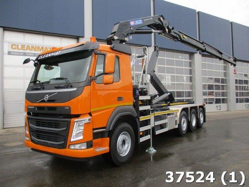 Abrollcontainer типа Volvo FM 420 8x2 HMF 26 ton/meter laadkraan Welvaarts, Gebrauchtmaschine в ANDELST (Фотография 1)