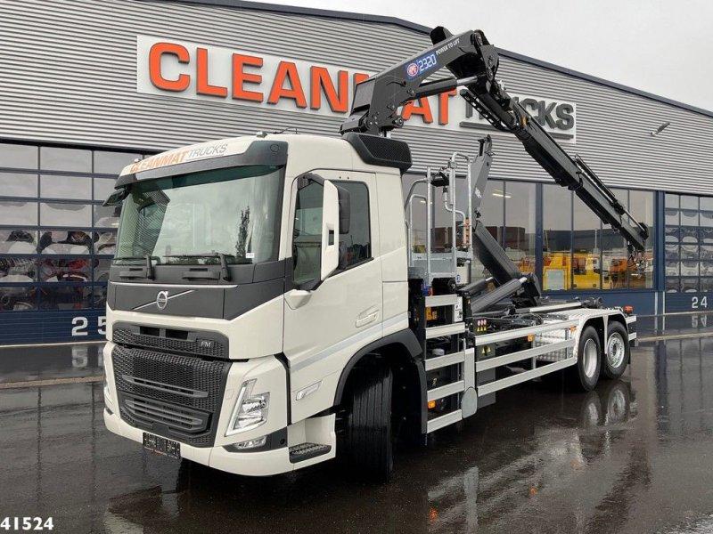 Abrollcontainer tipa Volvo FM 430 HMF 23 ton/meter laadkraan, Gebrauchtmaschine u ANDELST (Slika 1)