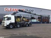 Abrollcontainer des Typs Volvo FM 440 8x4 Hiab 24 ton/meter laadkraan, Gebrauchtmaschine in ANDELST