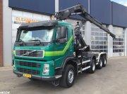 Abrollcontainer tip Volvo FM 440 8x6 Hiab 16 ton/meter laadkraan, Gebrauchtmaschine in ANDELST