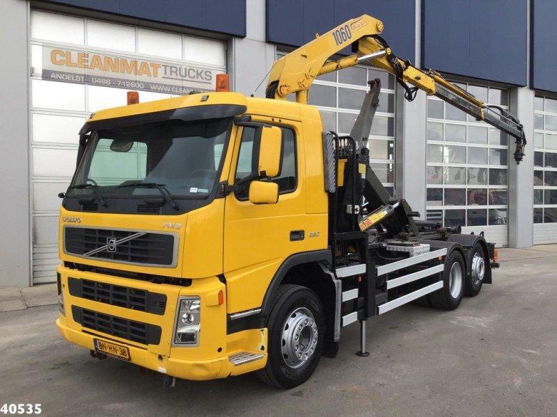 Abrollcontainer типа Volvo FM 9 HMF 10 ton/meter laadkraan, Gebrauchtmaschine в ANDELST (Фотография 1)