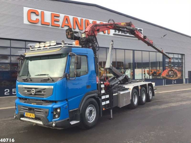 Abrollcontainer of the type Volvo FMX 460 8x4 Penz 16 ton/meter Z-kraan, Gebrauchtmaschine in ANDELST (Picture 1)