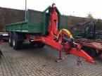 Abschiebewagen typu BIGAB Heuschmid 15-19 med 6m Micodan entreprenørcontainer v Horsens