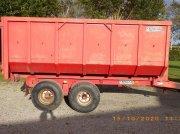 Abschiebewagen des Typs BIGAB Heuschmid 7-10 1 container og skiftelad medfølger., Gebrauchtmaschine in Ringsted