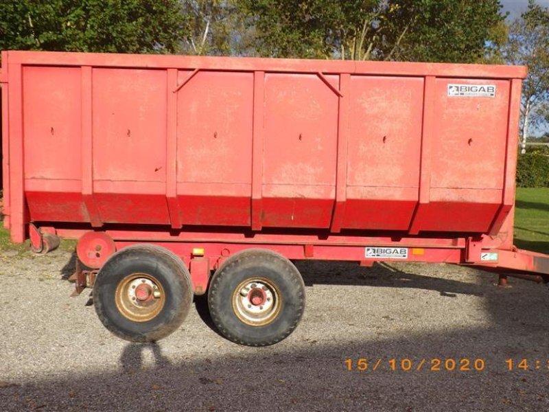 Abschiebewagen des Typs BIGAB Heuschmid 7-10 1 container og skiftelad medfølger., Gebrauchtmaschine in Ringsted (Bild 1)