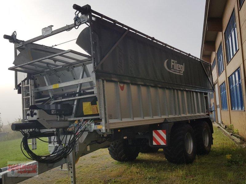 Abschiebewagen tipa Fliegl Gigant ASW 281 Taurus Fox Tandem, Gebrauchtmaschine u Rottenburg (Slika 1)