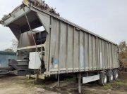Fliegl Gigant ASW Abschiebewagen - Bj. 2013 - 3-Achsen - 1. Liftachse - Trommelbremsen - hydraulische Heckklappe - 50 m3 - Kipper Auflieger Biogas Vlečka