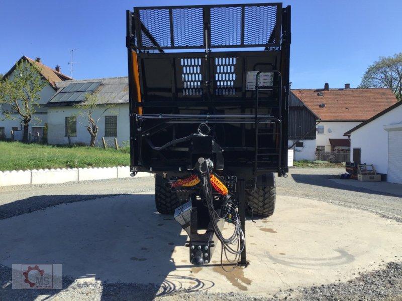 Abschiebewagen des Typs Kobzarenko TZP 24t 45m³ Deichselfederung Lenkachse, Neumaschine in Tiefenbach (Bild 12)