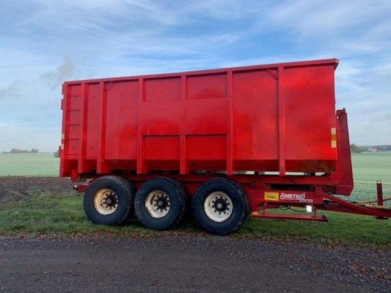 Abschiebewagen a típus Metsjö MetaFlex 24 6,5-7 mtr. kasser-3 akslet m/hydr.undervogn med side opretning-løftbar forreste aksel, drejbar bagerste aksel., Gebrauchtmaschine ekkor: Sakskøbing (Kép 1)