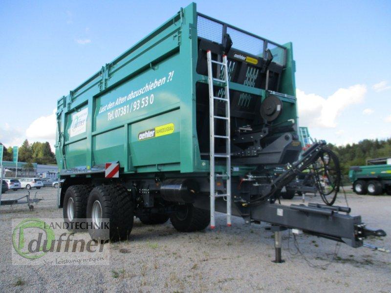 Abschiebewagen des Typs Oehler OL ASW 200 Tandem, Neumaschine in Münsingen (Bild 1)