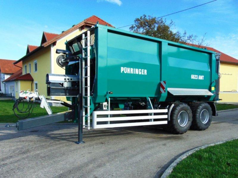 Abschiebewagen des Typs Pühringer 5823 AMT 20t, Neumaschine in Neukirchen am Walde  (Bild 1)