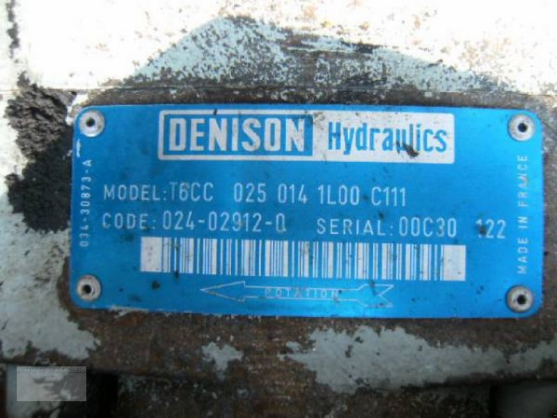 Anbaugerät a típus Sonstige Hydraulikpumpe T6CC, Gebrauchtmaschine ekkor: Kalkar (Kép 5)