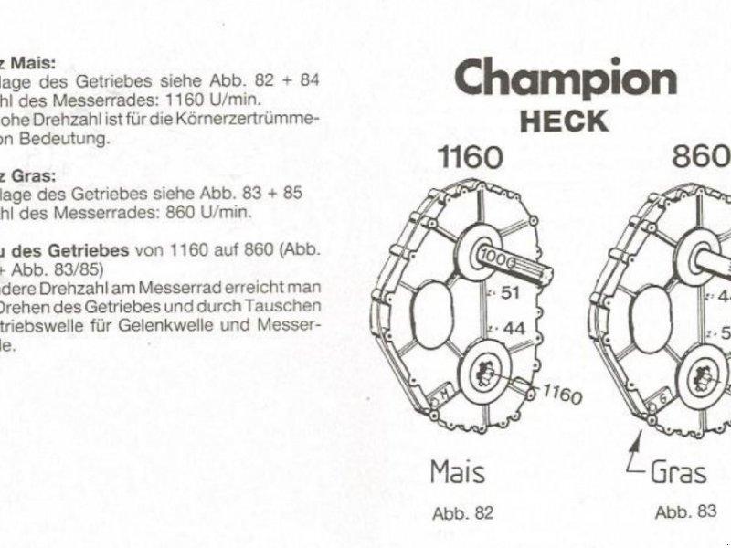 Anbauhäcksler & Anhängehäcksler tipa Kemper Champion 2200, Gebrauchtmaschine u Taufkirchen (Slika 1)