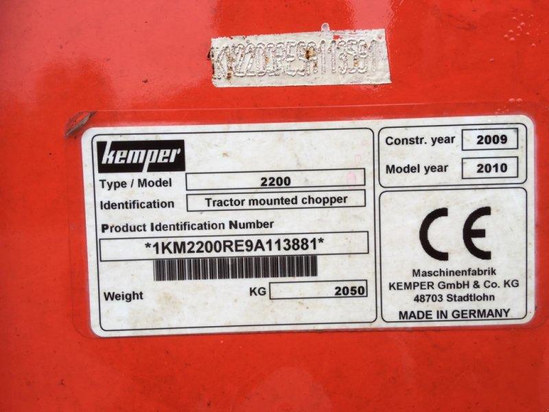 Anbauhäcksler & Anhängehäcksler des Typs Kemper Champion 2200, Gebrauchtmaschine in Medlingen (Bild 11)