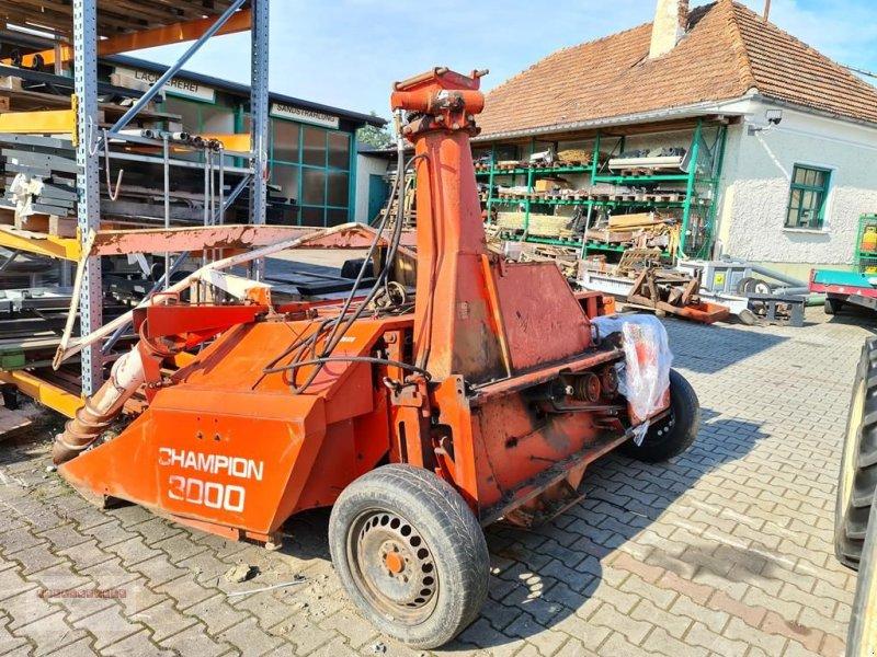 Anbauhäcksler & Anhängehäcksler типа Kemper Champion 3000 für HECK & FRONTANBAU! mit Metalld, Gebrauchtmaschine в Tarsdorf (Фотография 3)