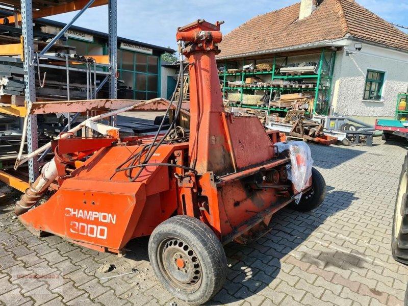 Anbauhäcksler & Anhängehäcksler типа Kemper Champion 3000 für HECK & FRONTANBAU! mit Metalld, Gebrauchtmaschine в Tarsdorf (Фотография 4)