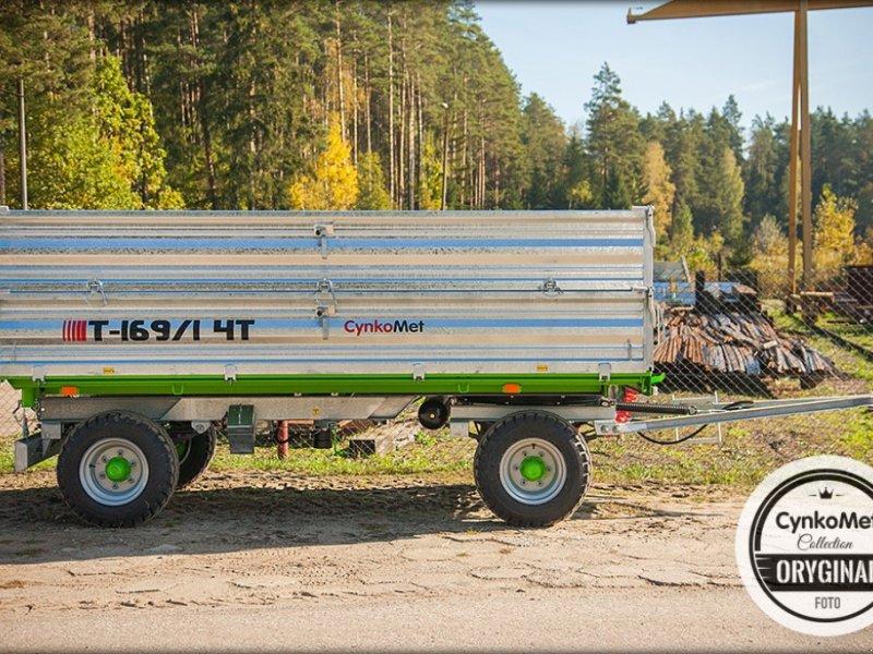 Anhänger типа CYNKOMET T-169/1 4 T, Neumaschine в Siekierczyn (Фотография 2)