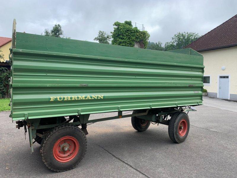 Anhänger типа Fuhrmann Anhänger Nutzlast 6000kg, Gebrauchtmaschine в Feldkirchen/D. (Фотография 1)