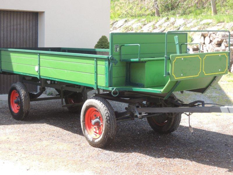 Anhänger typu Fuhrmann Anhänger, Gebrauchtmaschine w JENNERSDORF (Zdjęcie 1)