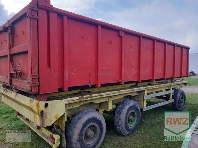 Anhänger des Typs Georg Huber Container Träger LIK 14, Gebrauchtmaschine in Rees (Bild 4)