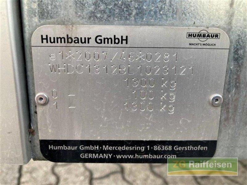 Anhänger des Typs Humbaur 1300 KG, Neumaschine in Bühl (Bild 9)
