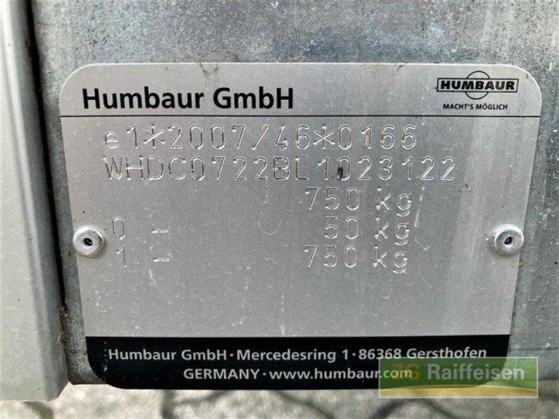 Anhänger des Typs Humbaur 750 KG, Neumaschine in Bühl (Bild 8)