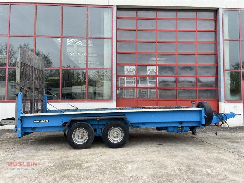 Anhänger типа Humer TTH 11,9 Tandemtieflader 5,60 m lang, wenig Benut, Gebrauchtmaschine в Schwebheim (Фотография 1)