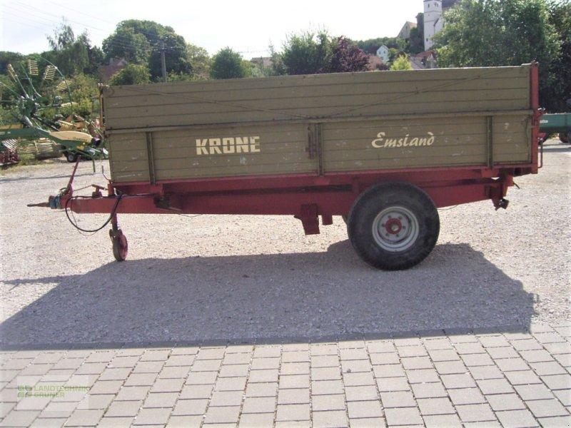 Anhänger типа Krone EDK 4,3, Gebrauchtmaschine в Hiltpoltstein (Фотография 1)
