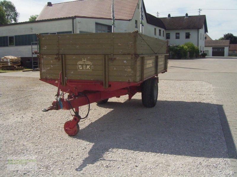 Anhänger типа Krone EDK 4,3, Gebrauchtmaschine в Hiltpoltstein (Фотография 5)
