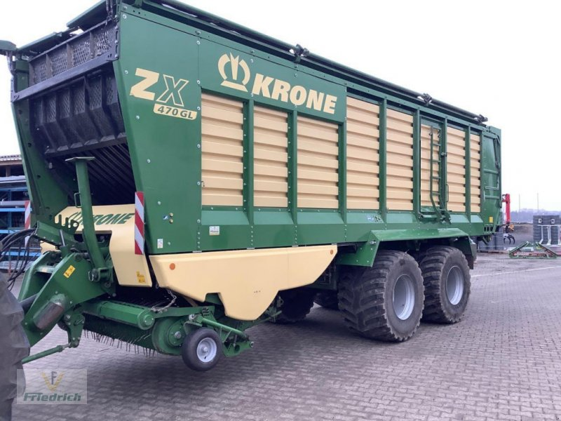 Anhänger of the type Krone ZX 470 GL, Gebrauchtmaschine in Bad Lausick (Picture 1)
