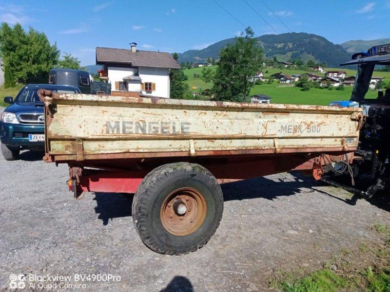 Anhänger des Typs Mengele Dreiseitenkipper, Gebrauchtmaschine in Burgkirchen (Bild 1)