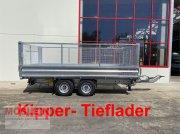 Anhänger tip Möslein TDS 11 Gitteraufsatz Tandem 3- Seitenkipper Tiefl, Gebrauchtmaschine in Schwebheim