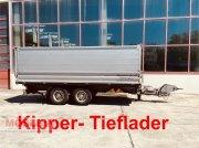 Anhänger tip Möslein TDS 11 Schwebheim Tandemkipper- Tieflader, Gebrauchtmaschine in Schwebheim