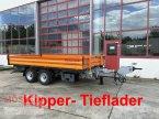 Anhänger des Typs Möslein TDS 13 Schwebheim 13 t Tandemkipper- Tieflader-- in Schwebheim