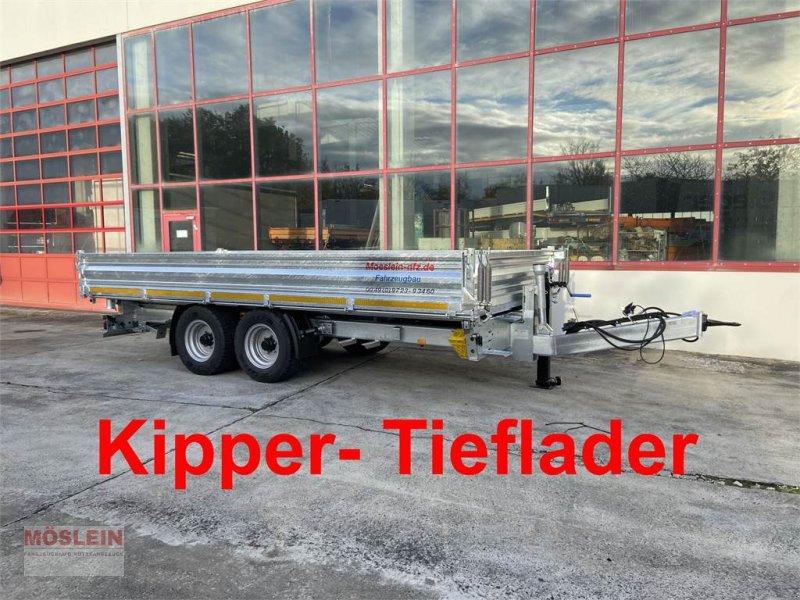Anhänger des Typs Möslein TTD 11 Breite Reifen Kipper Tieflader, Breite Rei, Gebrauchtmaschine in Schwebheim (Bild 1)