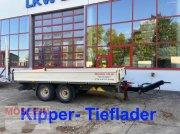 Anhänger des Typs Möslein TTK 13 Schwebheim 13 t Tandemkipper- Tieflader, Gebrauchtmaschine in Schwebheim