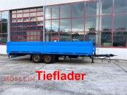 Anhänger des Typs Müller Mitteltal EAL-TA Tandem- Pritschenanhänger- Tiefl, Gebrauchtmaschine in Schwebheim