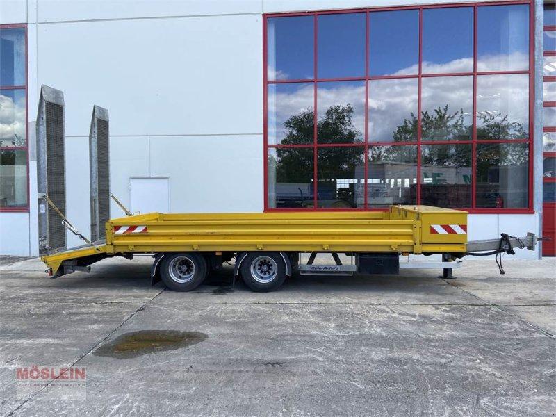 Anhänger типа Müller Mitteltal ETUE-TA 18,0 NG 18 t Tandemtieflader, h, Gebrauchtmaschine в Schwebheim (Фотография 1)