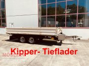 Anhänger typu Müller Mitteltal KA-TA-R 10,5 Tandemkipper- Tieflader, Gebrauchtmaschine w Schwebheim