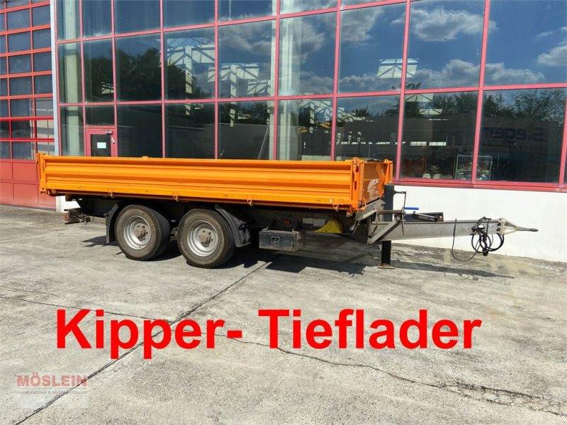 Anhänger типа Müller Mitteltal KA-TA-R 13,5 13,5 t Tandemkipper- Tiefl, Gebrauchtmaschine в Schwebheim (Фотография 1)