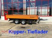 Anhänger typu Müller Mitteltal KA-TA-R 13,5 13,5 t Tandemkipper- Tiefl, Gebrauchtmaschine w Schwebheim