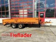 Anhänger типа Obermaier TUE 89 A Tandemtiefladeranhänger, Gebrauchtmaschine в Schwebheim