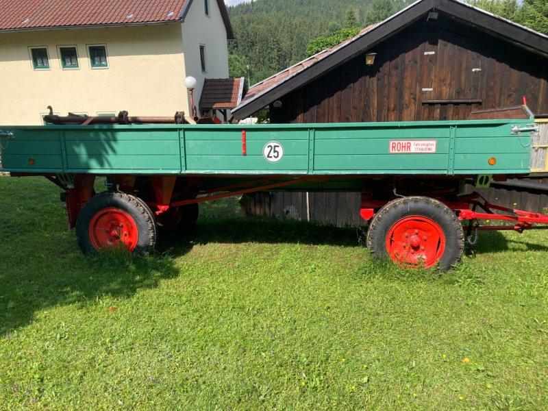 Anhänger типа Rohr 2-Achs, Gebrauchtmaschine в Rinchnach (Фотография 1)