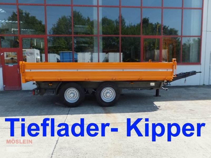 Anhänger типа Sonstige 14 t Tandemkipper- Tieflader, Gebrauchtmaschine в Schwebheim (Фотография 1)