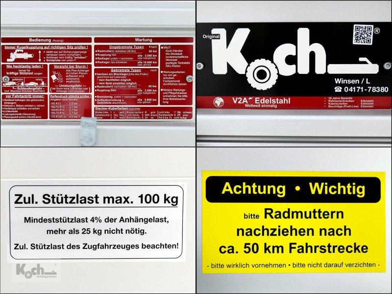 Anhänger типа Sonstige Koch-Anhänger 125x250cm 1300kg Typ 4.13 Angebot Koch (Pkw413Ko), Neumaschine в Winsen (Luhe) (Фотография 17)