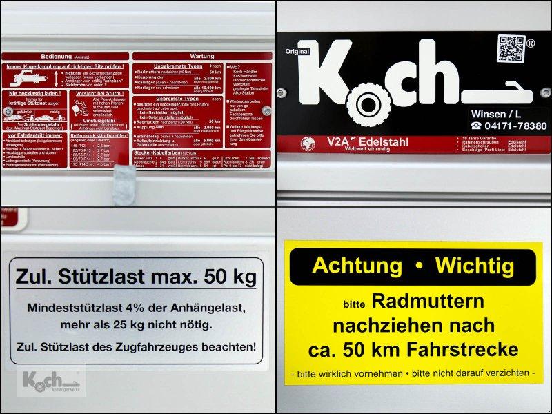 Anhänger типа Sonstige Koch-Anhänger 125x250cm 750kg|Typ U4|Hochplane 150 cm Hobby|Angebot|Koch (Pkw4150Ko), Neumaschine в Winsen (Luhe) (Фотография 9)