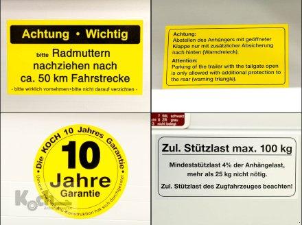Anhänger типа Sonstige Koch-Anhänger 150x300cm 2000kg Typ 7.20 Hobby Angebot Koch (Pkw10200720Ko), Neumaschine в Winsen (Luhe) (Фотография 15)